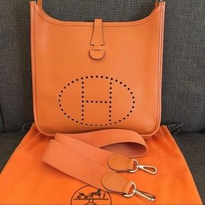 Authentic Hermes Evelyne Pm size